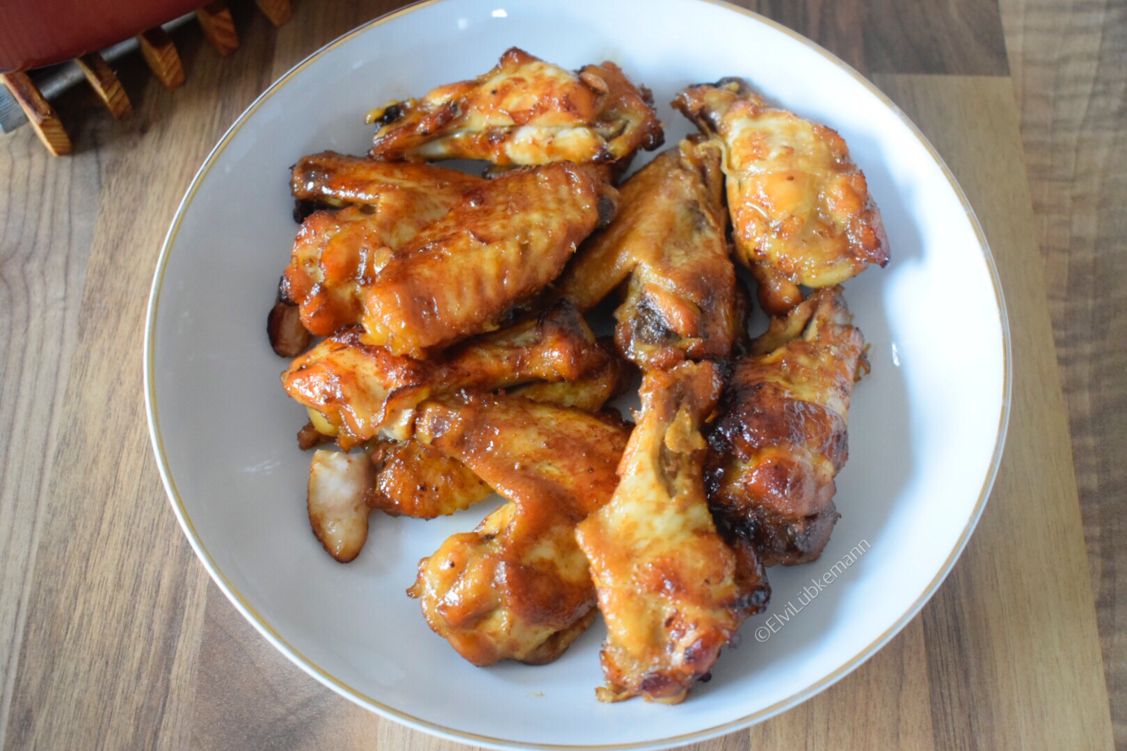 Soya Chicken Wings Bite